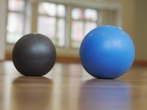 Gymnastic balls Stock Photography