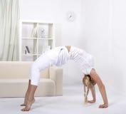 Gymnastic bridge Stock Images
