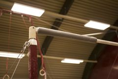 Free Gymnastic Equipment In A Gymnastic Center Royalty Free Stock Images - 121642609