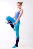 Gymnastic exercise Royalty Free Stock Photo