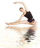 Gymnastic exercise Royalty Free Stock Image