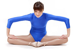 Gymnastic exercises Royalty Free Stock Image