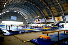 Gymnastic hall Royalty Free Stock Photography
