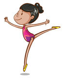 Gymnastic Royalty Free Stock Image