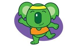 Gymnastic Koala Stock Image