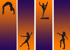 Gymnastic New Royalty Free Stock Image