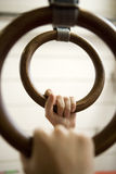 Gymnastic Rings Royalty Free Stock Image