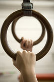 Gymnastic Rings Stock Photos