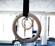 Gymnastic rings Stock Photography