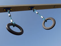 Gymnastic rings -2 Stock Images