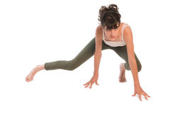 Gymnastic teen Royalty Free Stock Image