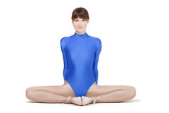 Gymnastic woman Royalty Free Stock Images