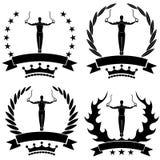 gymnastics Fotos de Stock Royalty Free