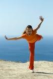 The Gymnastics Royalty Free Stock Image
