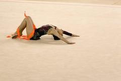 Gymnastics Action Stock Images