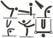 Gymnastics Artistic icon. Summer sports icons set - Gymnastics Artistic icon Stock Image