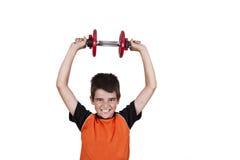 Gymnastics with children Royalty Free Stock Photos