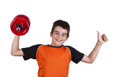 Gymnastics with children Stock Images