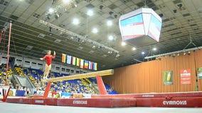 Gymnastics competition, Ukraine Nation CUP (Stella Zakharova Cup) 2015,. KIEV - MAY 24: Ukraine Nation CUP (Stella Zakharova Cup) 2015, International sport stock footage