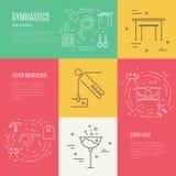 Gymnastics Concept Stock Photography