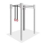 Gymnastics Element Illustration Isolated On White Background Stock Photo