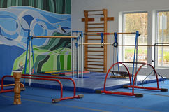 Gymnastics equipment Royalty Free Stock Images