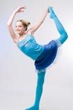 Gymnastics figures Royalty Free Stock Photo