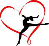Gymnastics logo Stock Photos