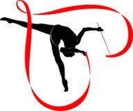 Gymnastics logo Stock Images