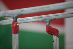 Gymnastics Mens Bars Apparatus Royalty Free Stock Photography