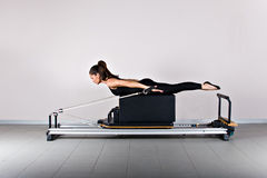 Gymnastics pilates Royalty Free Stock Image