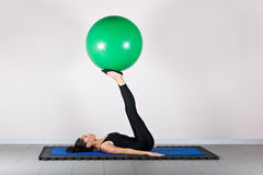 Gymnastics pilates Royalty Free Stock Photography