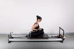 Gymnastics pilates Royalty Free Stock Images