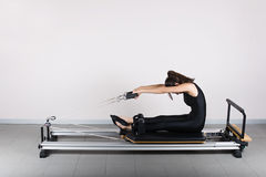 Gymnastics pilates Royalty Free Stock Images