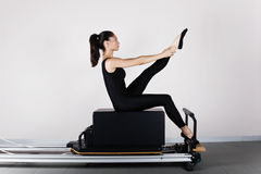 Gymnastics pilates Royalty Free Stock Photography