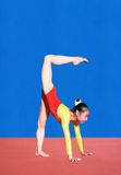 Gymnastics poses Royalty Free Stock Photography