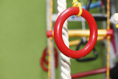 Gymnastics rings rope ladder Stock Photography