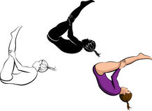 Gymnastics Tumbling Royalty Free Stock Image