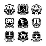 Gymnastics Vector Icons 18. Here is an awesome set of gymnastic badges that you are sure to find very useful. Hope you really enjoy using them Stock Photo