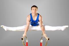 Gymnastiek Royalty-vrije Stock Foto's