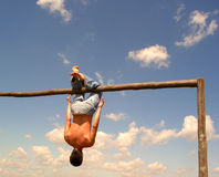 Gymnastiek Royalty-vrije Stock Fotografie