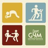 Gymnastiek Stock Afbeeldingen