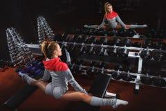 Gymnastiek stock foto's
