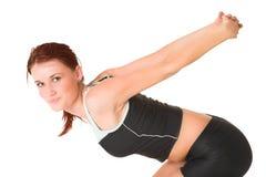 Gymnastiek #82 Royalty-vrije Stock Afbeeldingen