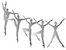 Gymnastiek- Stock Foto's
