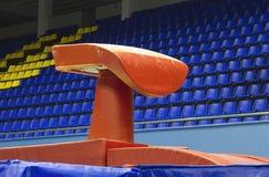 Gymnastiek- bok Stock Afbeeldingen
