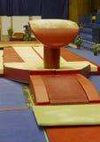 Gymnastiek- bok Royalty-vrije Stock Foto's
