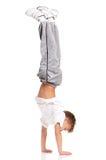 Gymnastiek- jongen stock fotografie
