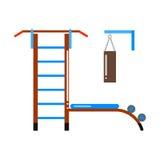 Gymnastiek- ladder vectorillustratie Royalty-vrije Stock Afbeelding