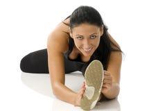 Gymnastiek- meisje royalty-vrije stock fotografie